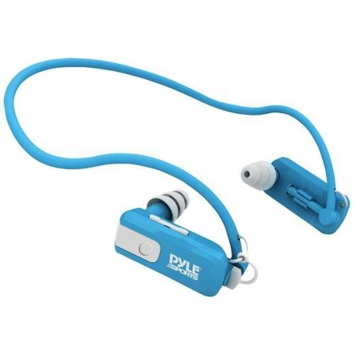Pyle Pswb4Bl 4 Gb Waterproof Neckb And Mp3 Player