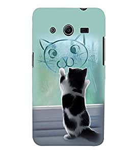PRINTSWAG CAT Designer Back Cover Case for SAMSUNG GALAXY CORE 2 G355H