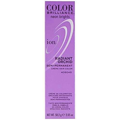Ion Sally Beauty Color Brilliance Semi Permanent Neon Brights Hair Color, Radiant Orchid (Neon Permanent Hair Dye compare prices)