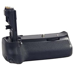 Professional BG-E9 Battery Grip + 2 LP-E6 Batteries for Canon EOS 60D Digital SLR Camera