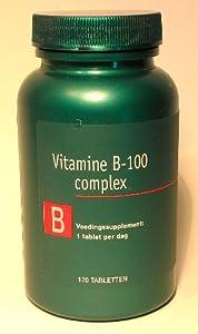 VITAMIN B-Complex 100 mg 120 Tabletten PREMIUMQUALITÄT
