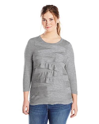 Vince Camuto Plus Women's Zig Zag Sweater