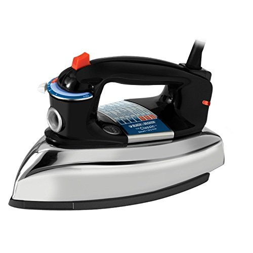 Black and Decker The Classic Iron with Aluminum Soleplate, Steam-Surge, F67E, NK. (Rowenta Liquid Cleaner compare prices)