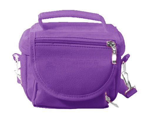 Modern-Tech Purple Nintendo DS Lite/DSi/DSi XL/3DS Travel Bag Carry Case