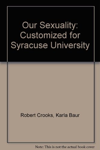 Our Sexuality: Customized for Syracuse University