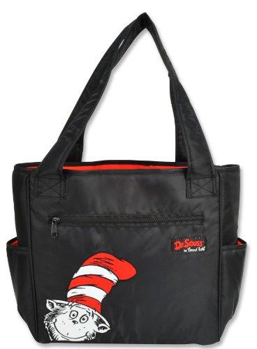 Trend Lab Dr Seuss Tulip Style Diaper Bag, Cat In The Hat