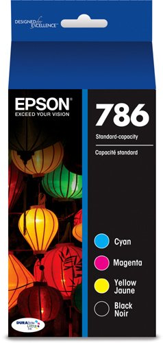 Epson DURABrite Ultra Standard-Capacity Ink Cartridge, Black and Color Multipack (T786120-BCS)