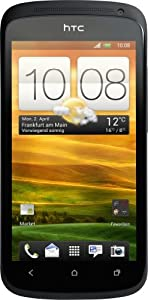HTC ONE S Smartphone (10,9 cm (4,3 Zoll) AMOLED-Tochscreen, 8 Megapixel Kamera, Android OS) schwarz