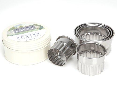 Ethos set di barattoli taglia pasta la grande gara di cucina britannica colore crema - Barattoli pasta cucina ...