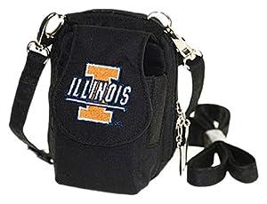 Buy University of Illinois Fightin Illini PursePlus, Black by Charm14