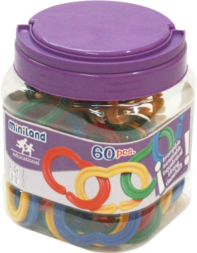 Miniland - maglie per catena, 60 pezzi