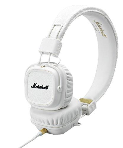 Marshall Major II On-Ear Headphones, White (4091113) (Marshall Major Ii compare prices)