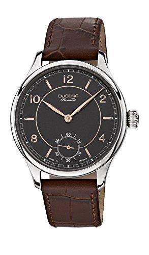 Dugena reloj de hombre XL analógico Dugena Premium diseño Steampunk Piel 7000115