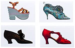 Metropolitan Museum of Art Boxed Note Cards, Shoes (MN806)