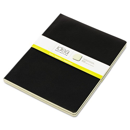 Tops - Idea Collective Journal, Soft Cover, Side Binding, 7 1/2 X 10, Black, 2/Pk 56879 (Dmi Pk