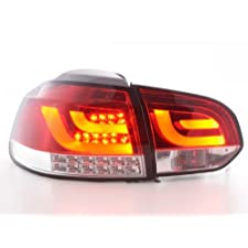 Rückleuchten Set LED VW Golf 6 Typ 1K Bj. 2008-2012 rot/klar mit LED Blinker