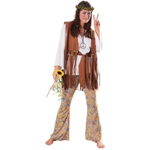 Feeling Groovy Hippie Adult Standard Size Costume