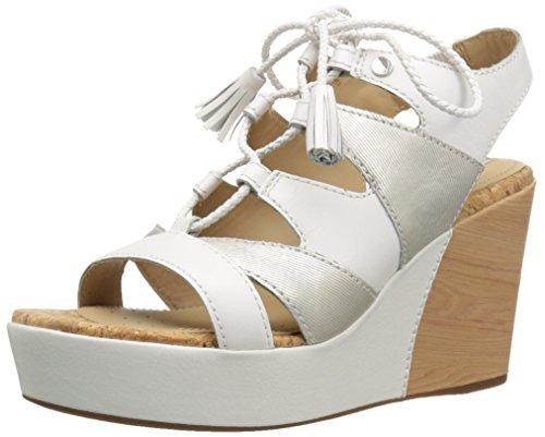GeoxD Jaleah A - Sandali Donna , Bianco (Blanc (C1352)), 38