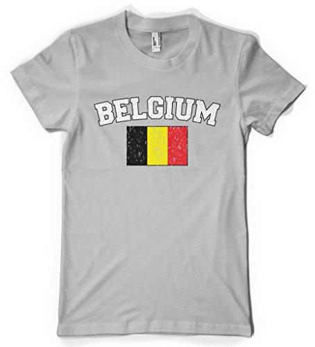 Cybertela Faded Belgium Flag Women