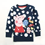 Peppa Pig Girls Long Sleeved Sweater...