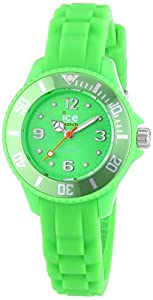 Ice-Watch Unisex-Armbanduhr Analog Quarz Silikon SI.GN.M.S.13