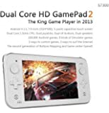 JXD S7300 Dual Core Tablet HD capacitiva pantalla táctil consola de juegos Android 4 Retrogaming