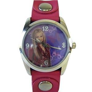Disney Pop Star Fashion Wristwatch - Hannah Montana Watch with 2 Tone Band