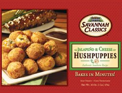 Amazon.com : SAVANNAH CLASSICS HUSH PUPPIES JALEPENO & CHEESE 16 OZ ...