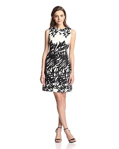 Taylor Women's Scribble Print Sheath Dress