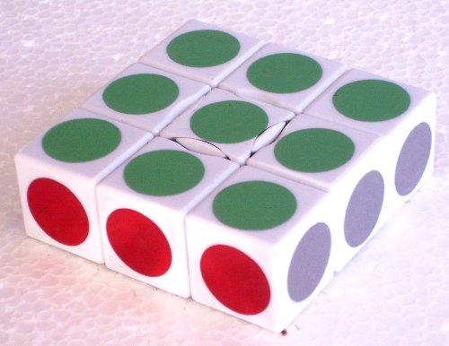 LanLan® 1x3x3 Super Floppy Cube White - 1