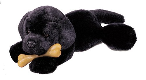 Buy Plush Black Lab 11″