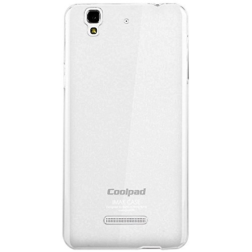 IMAK Transparent Crystal Clear Hard Cover Case Shell Compatible for Micromax Yureka Yu