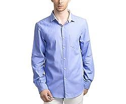Scotchtree Men's Shirt (sco_019_Blue_X-Large)