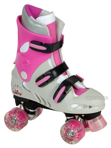 LA Lights Quad Roller Skates - Size UK1 Junior