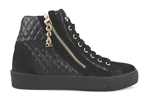 scarpe donna MADAME PIGALLE 37 EU sneakers nero camoscio pelle AM786