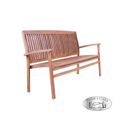 Gartenmöbel Gartenbank MEDAN Sitzbank 3-Sitzer 150 cm Bank Teakholz Teak Premiumqualität online kaufen