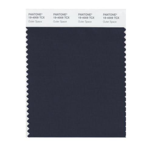 Amazon.com: Pantone 19-4009 TCX Smart Color Swatch Card, Outer Space