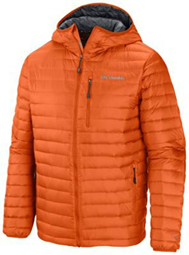 Columbia Sportswear Men's Compactor Down Hooded Jacket MEDIUM OMNI HEAT (Columbia Compactor compare prices)