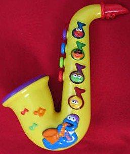 Buy Low Price Mattel Sesame Street Elmo Cookie Monster Saxophone Musical Toy Figure (B002AEN7BS)