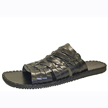 GBX Men's Woven Slide (Black 8.5 M)