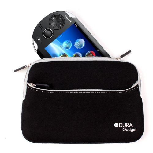 Black Water & Shock Resistant Neoprene Sleeve For PS Vita, Acer Iconia Tab A100 & Gemini JoyTab