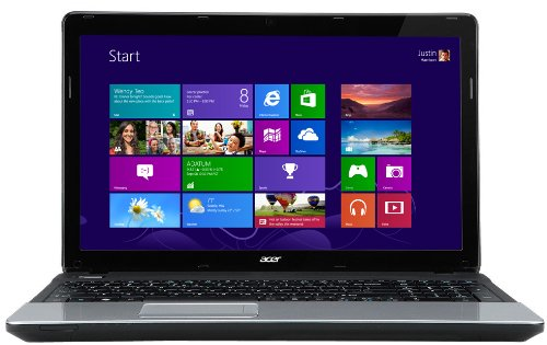 Acer Aspire E1 15.6-inch Laptop - Black/Silver (Intel Core i3 3110M 2