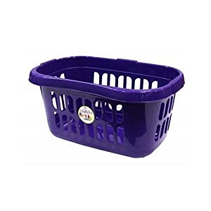 CASA HIPSTER LAUNDRY BASKET VOILET MADE IN UK