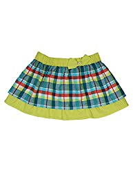 Y/D Check Skirt 7-8 Years