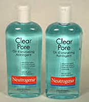 Neutrogena Oil-Eliminating Astringent Clear Pore 8 fl oz (Pack of 2)