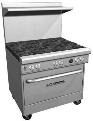Gas Stove Top Oven front-580921