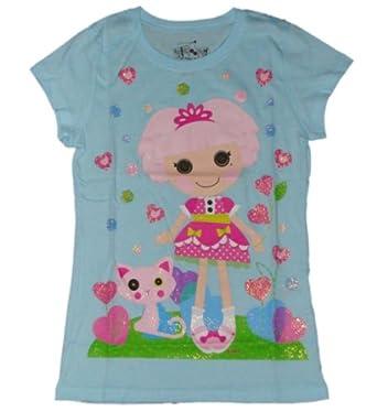 Lalaloopsy Jewel Sparkles Girls T-shirt (L (10/12))