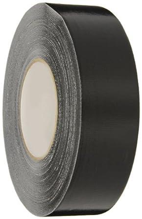 Nashua 357 Polyethylene Coated Cloth Premium Duct Tape, 55m Length x 72mm Width, Black