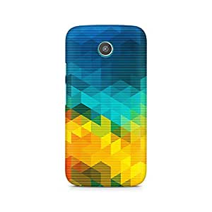 Mobicture Premium Printed Back Case Cover With Full protection For Motorola Moto E