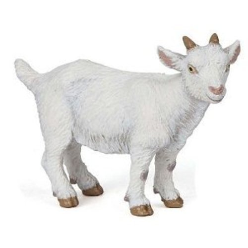 Papo White Kid Goat